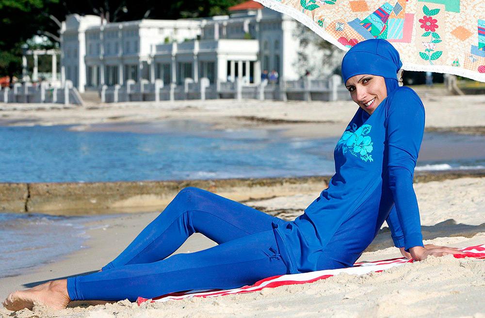Буркини – купальники для самых скромных девушек