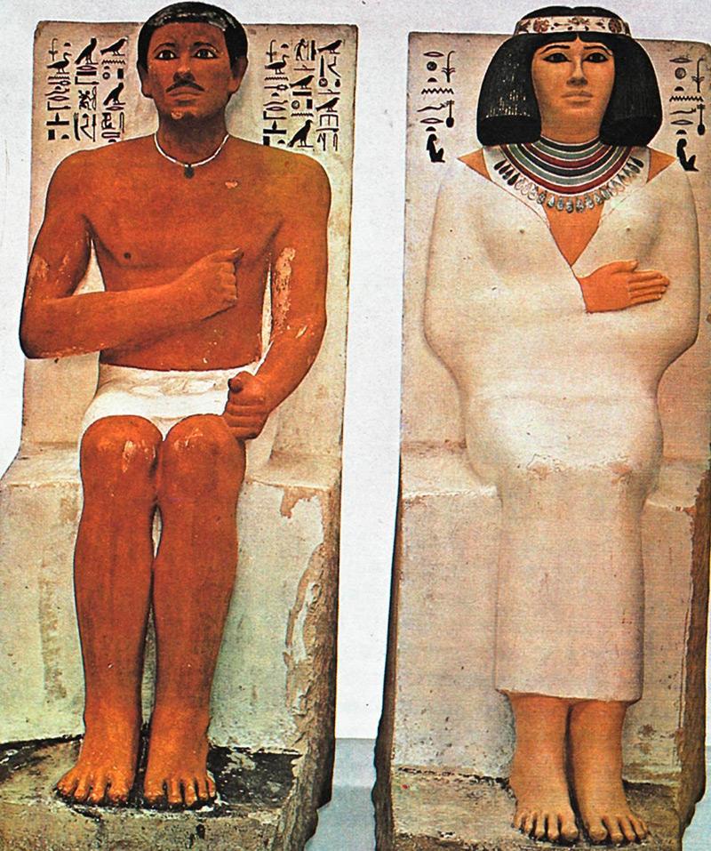 Помада в Древнем Египте