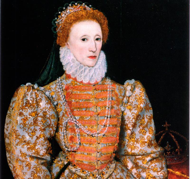 Королева Елизавета и помада