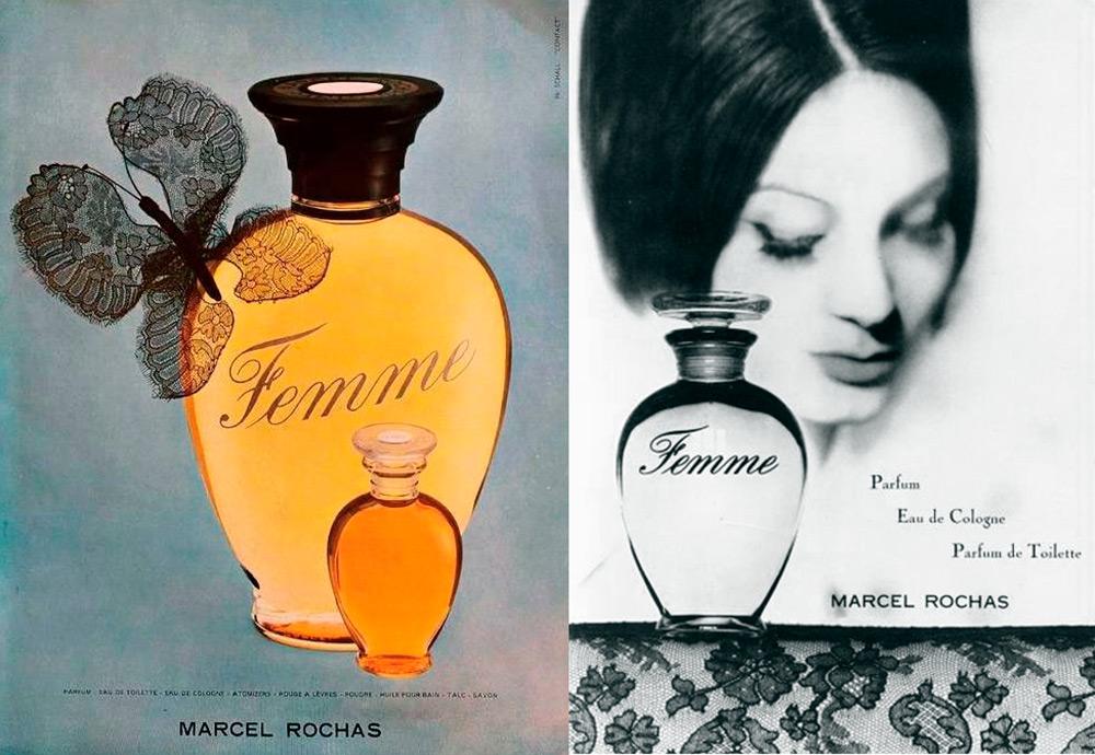 Парфюмерный аромат Femme Rochas