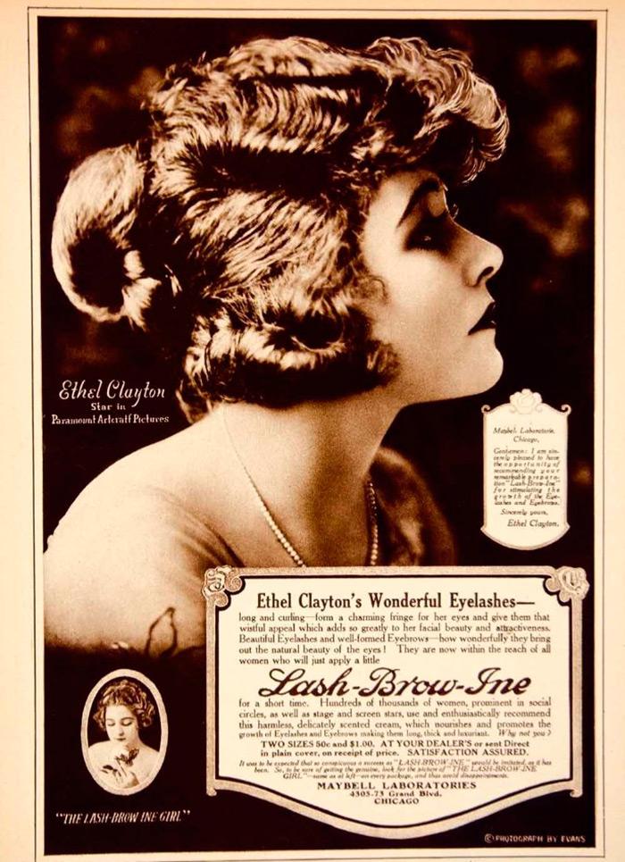 Реклама туши для ресниц