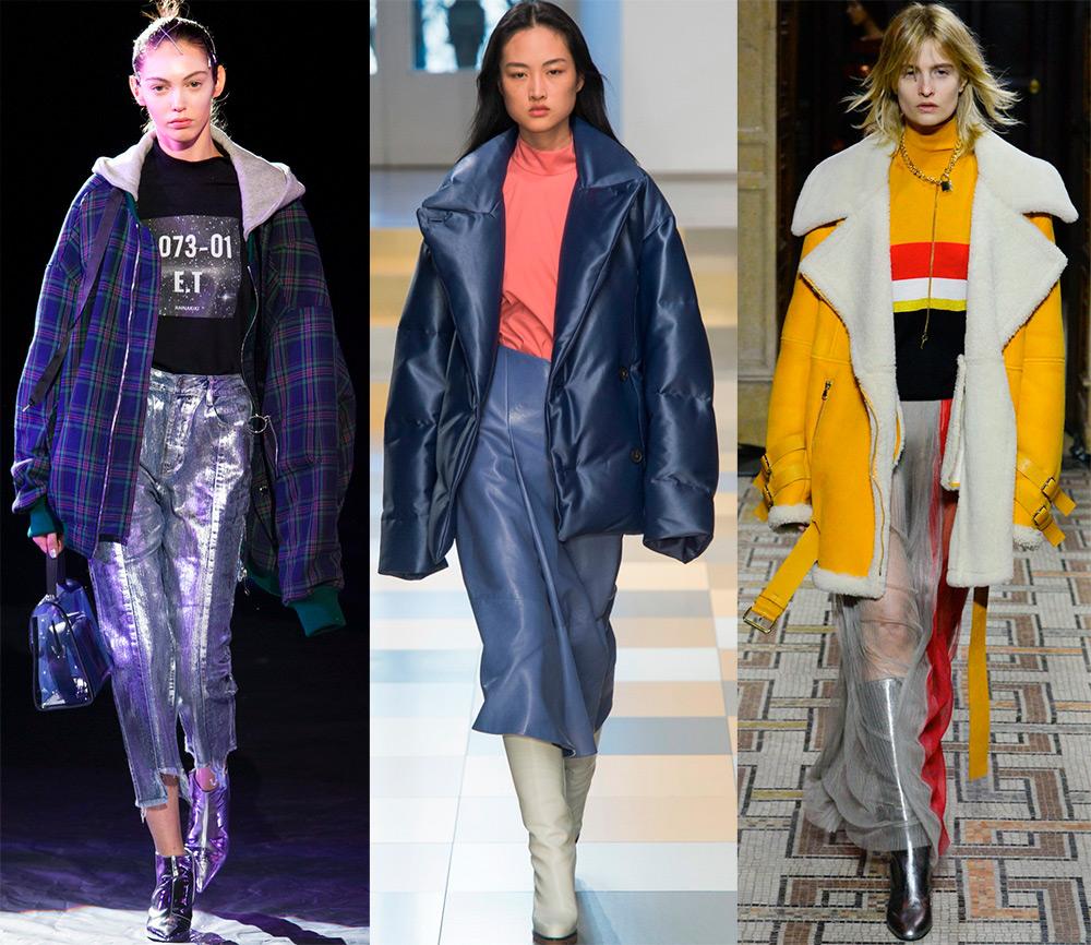 Куртки в стиле оверсайз