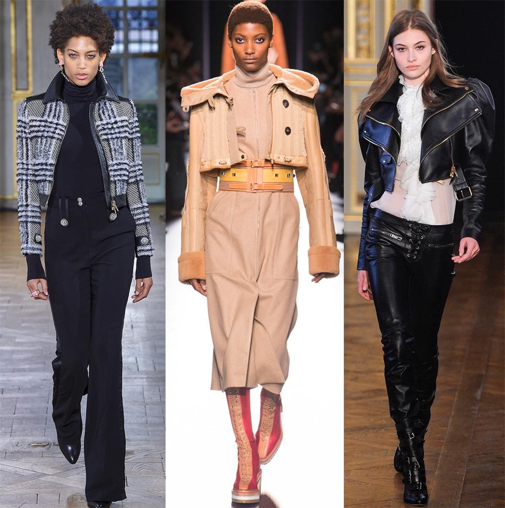 Короткие женские куртки на осень