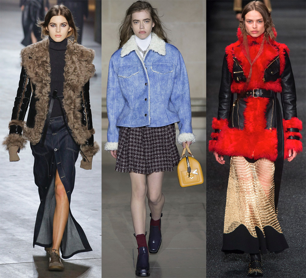 Женская мода на осень и зиму
