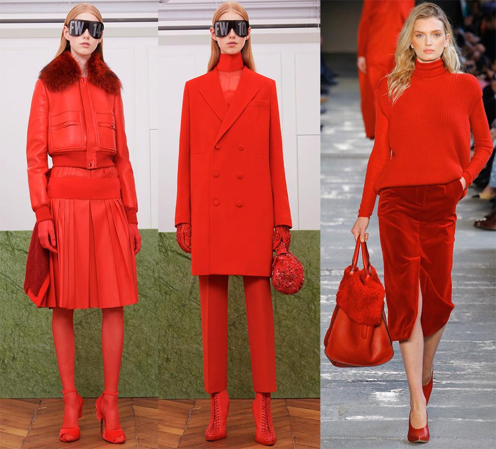Образы в красных оттенках