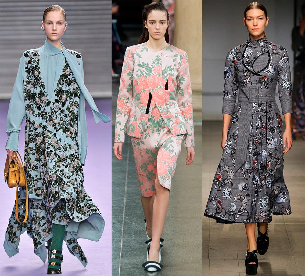 Мода и цветочный принт