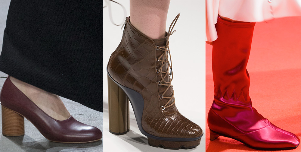 Зимняя и осенняя женская обувь 2017-2018