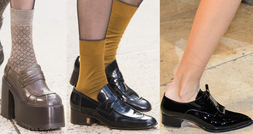 Обувные модные тенденции 2017-2018