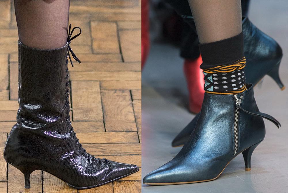 Остроносая обувь 2017-2018