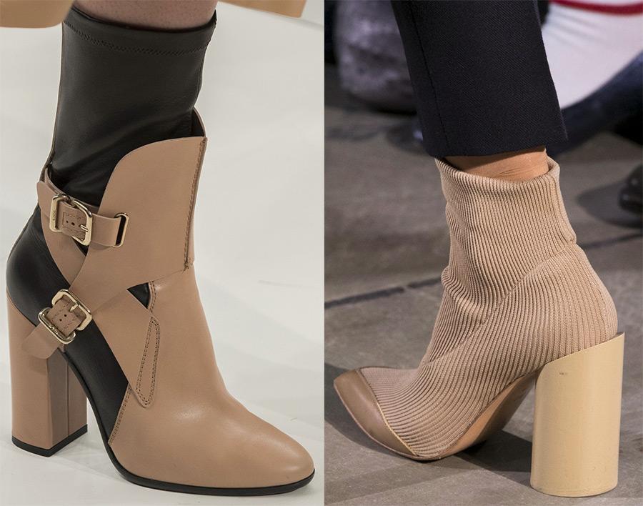 осенняя женская обувь 2017-2018