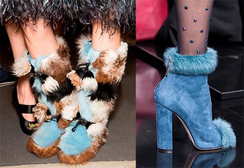 Сапоги с мехом и другая меховая обувь холодного сезона