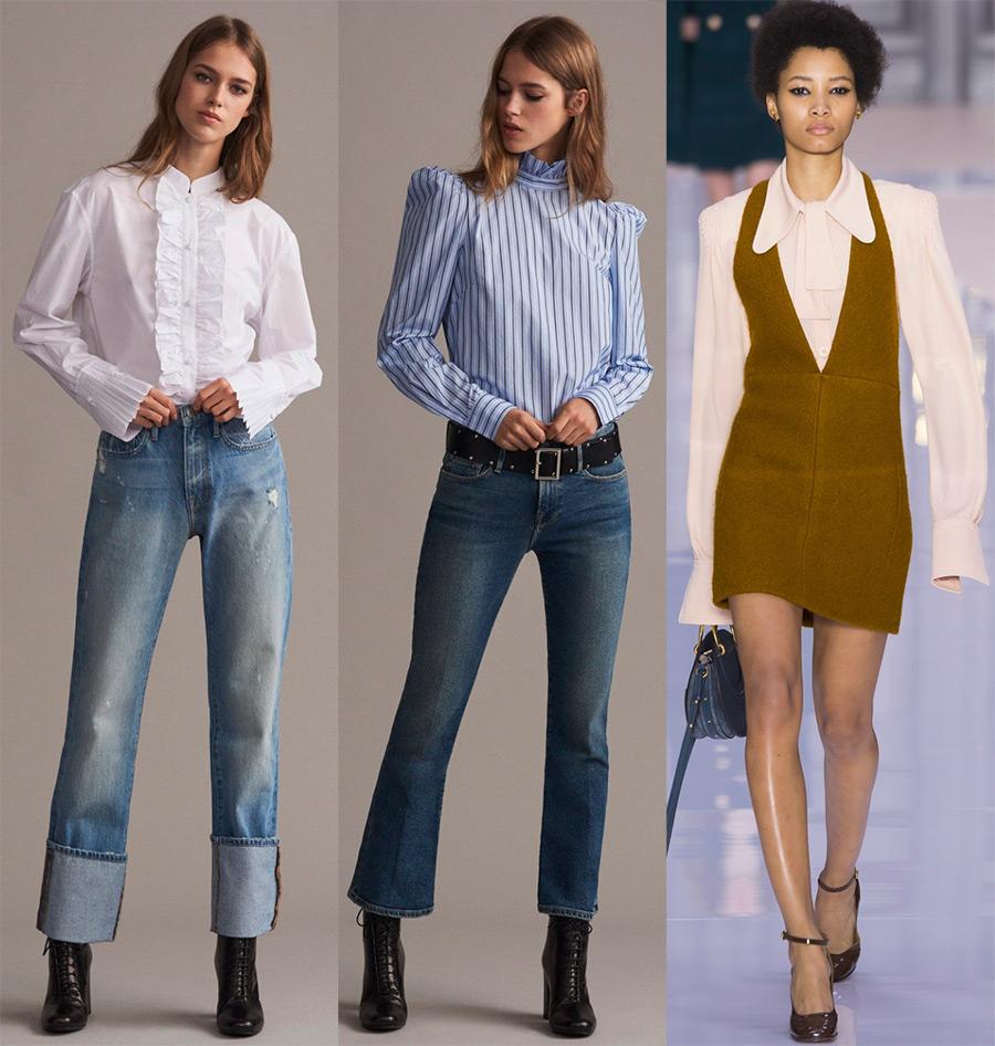 Модные кофты 2018 года: что носить с юбками и брюками