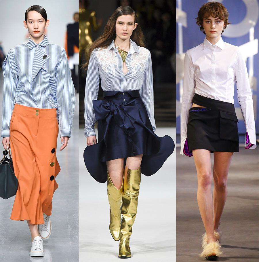 Блузки 2017-2018 года и модные тенденции