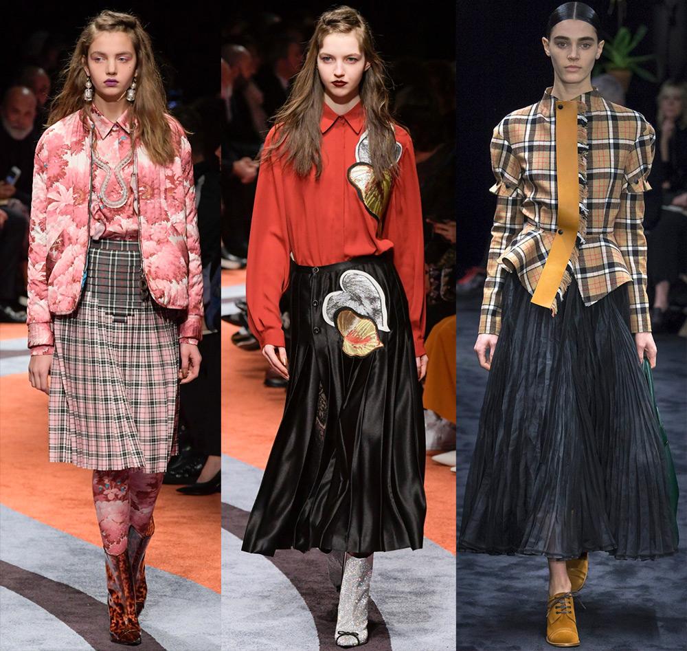 Модные юбки осень зима 2017 2017