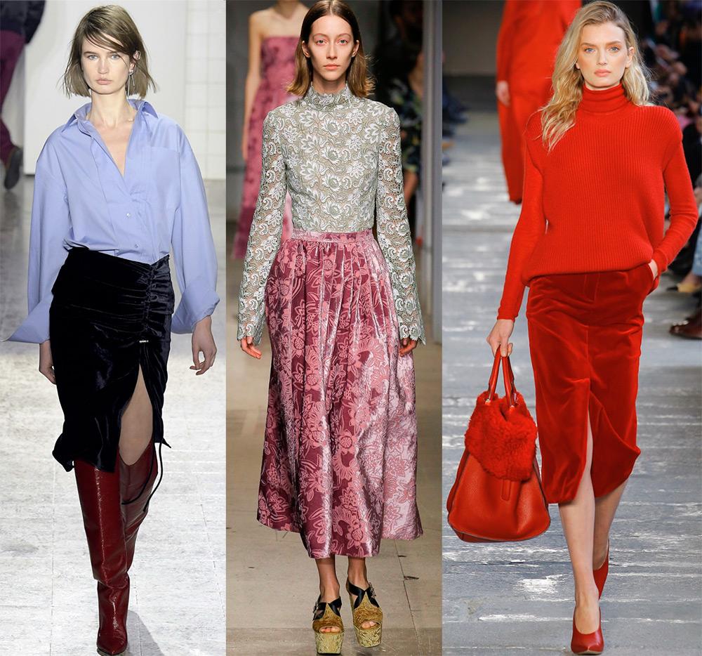 Бархатные юбки