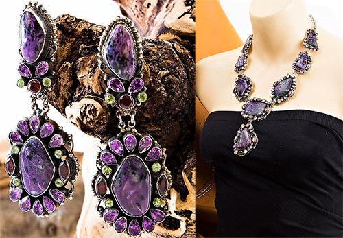 Почему надо срочно купить украшение с камнем чароит