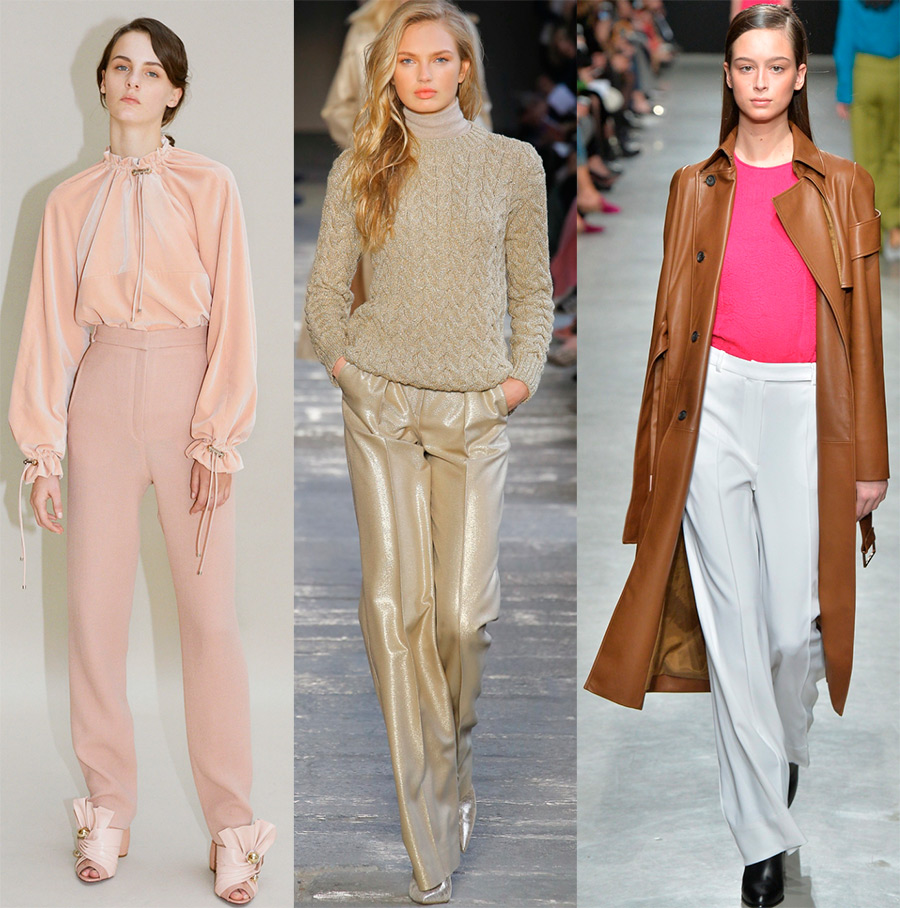 какие брюки в моде в 2018 году