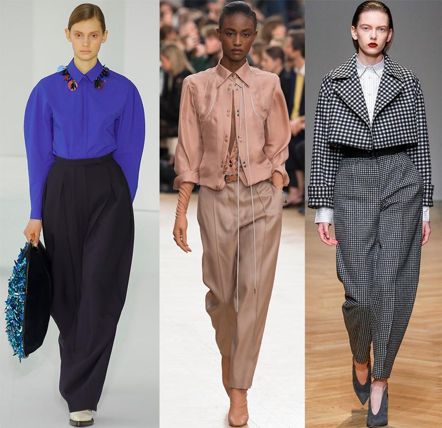 Женские брюки 2017-2018 года