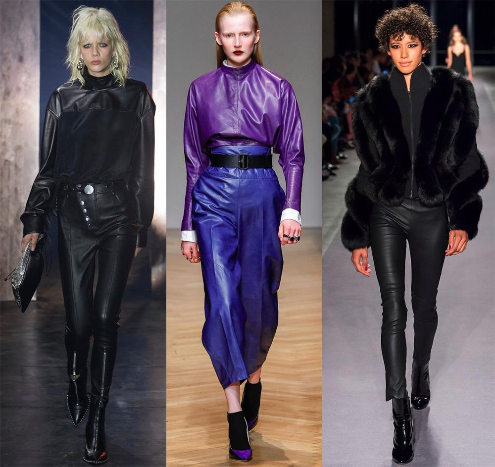 Почему надо купить кожаные брюки из новой коллекции