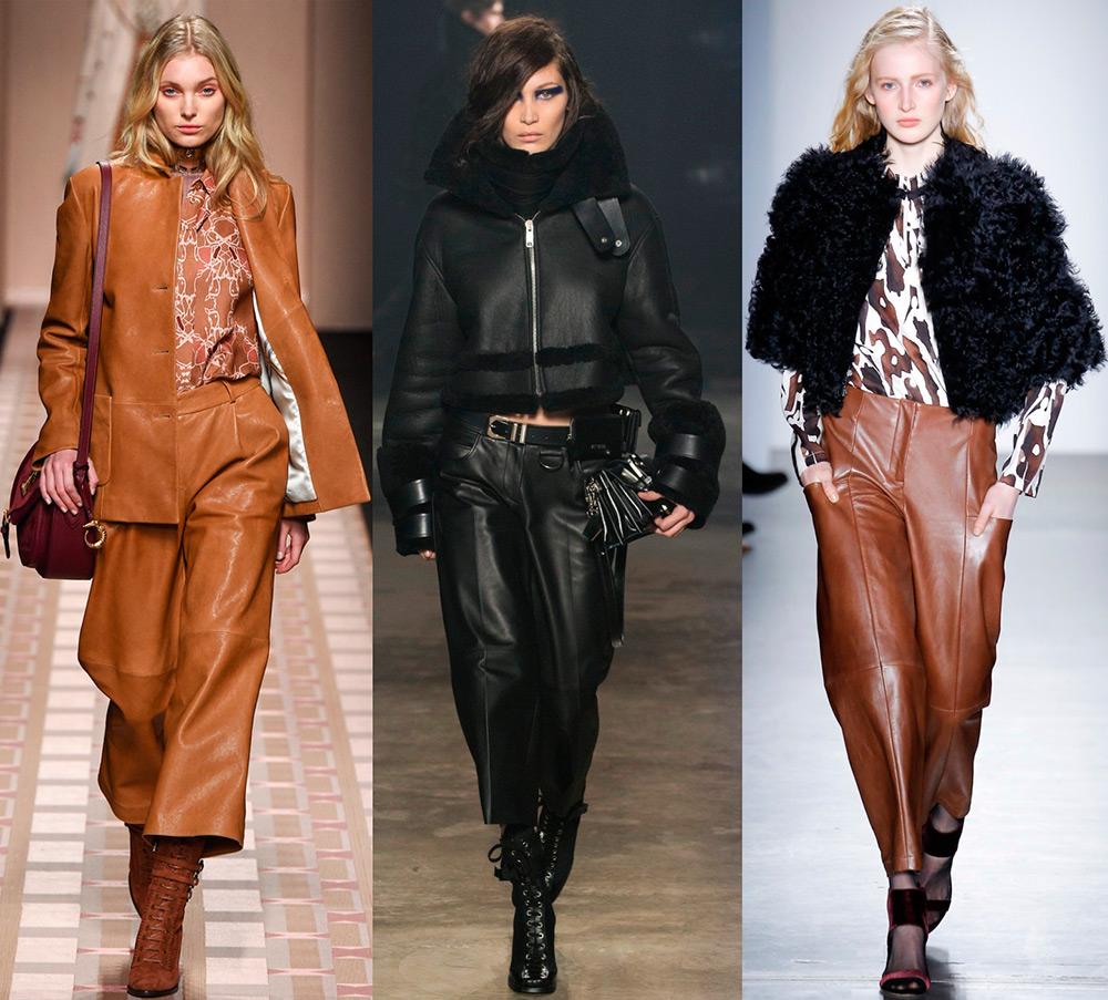 Кожаные легинсы — как выбрать из натуральной или эко-кожи и обзор стильных моделей по брендам и ценам
