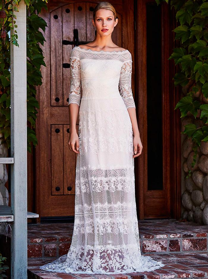 Свадебные платья Tadashi Shoji на осень 2018