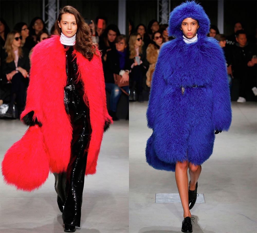 Модные шубы Simonetta Ravizza