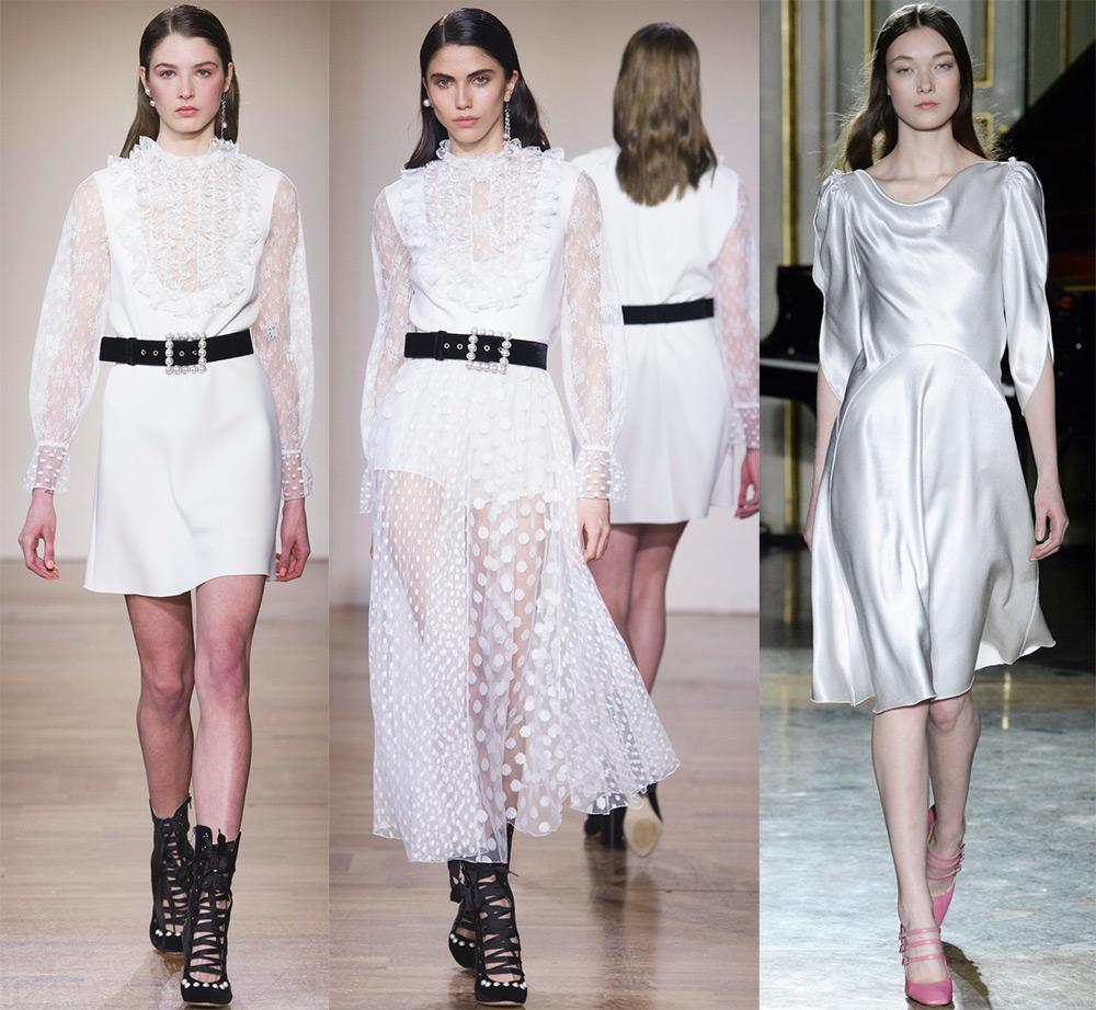 Красивые белые платья 2017-2018