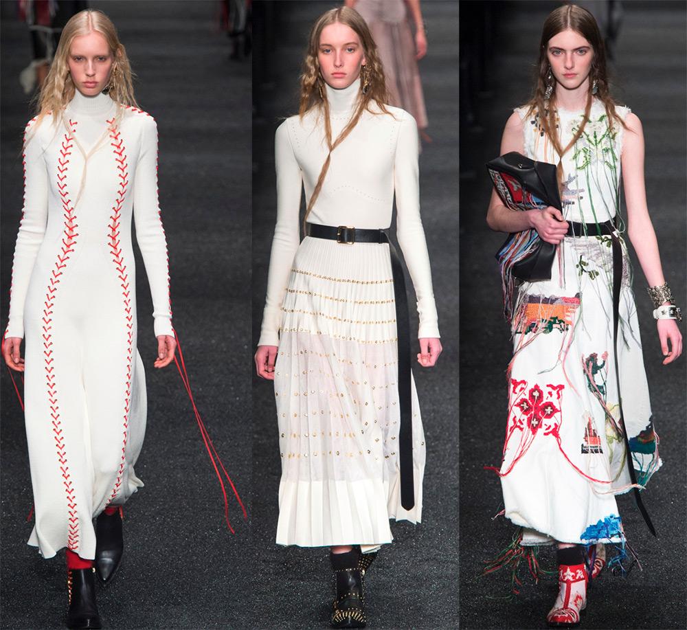 Alexander McQueen платья