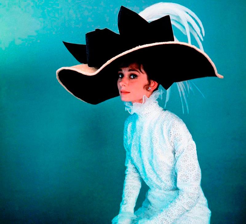 шляпка Одри Хепберн