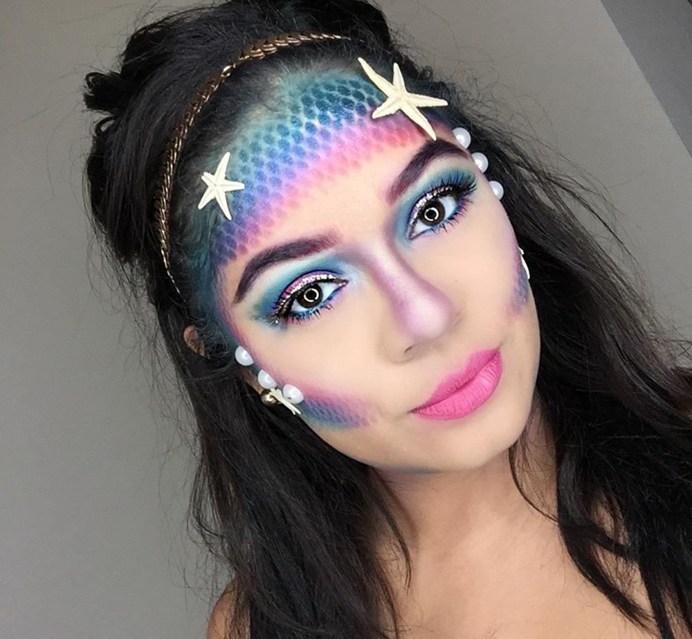 Оригинальный макияж на Хэллоуин