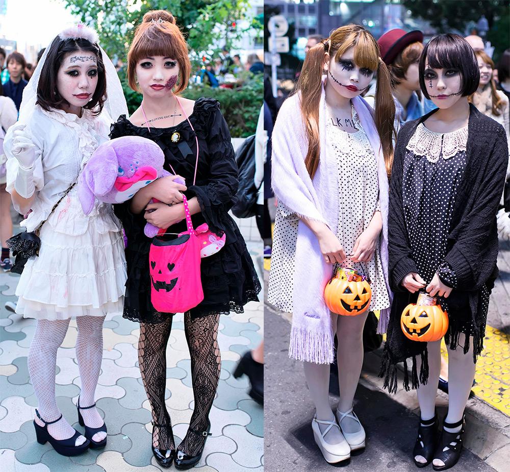 Красивые образы на Хэллоуин