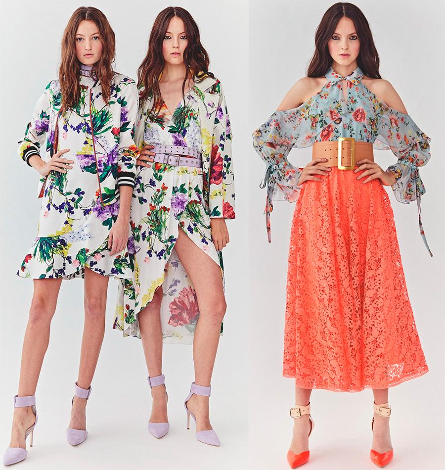 мода весна-лето 2018 Alice Olivia