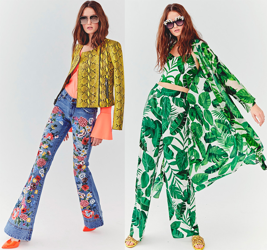 мода весна-лето 2018 Alice+Olivia