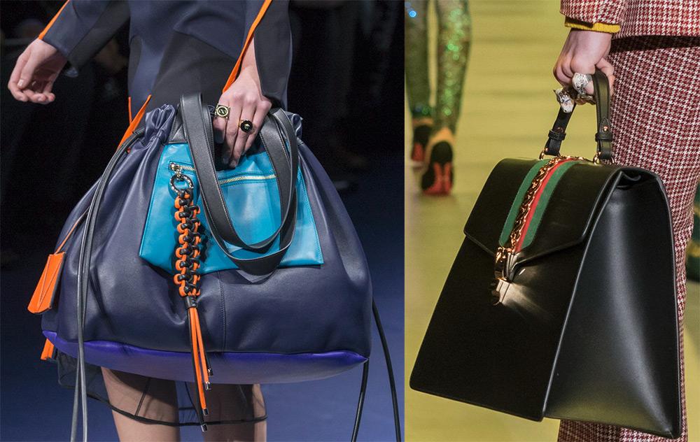 объемные женские сумки 2017-2018