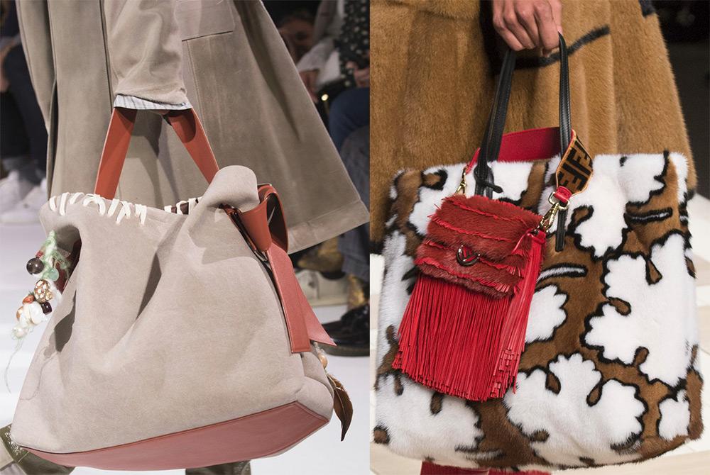 Большие женские сумки 2018