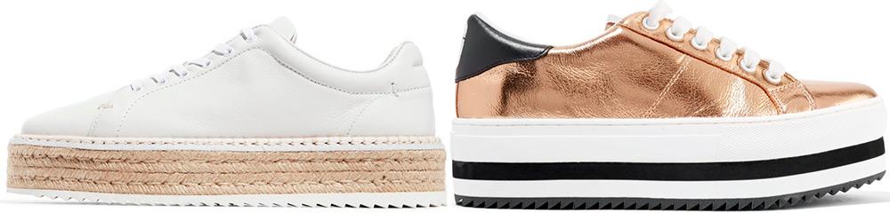 Как выбрать и с чем носить обувь на флатформе