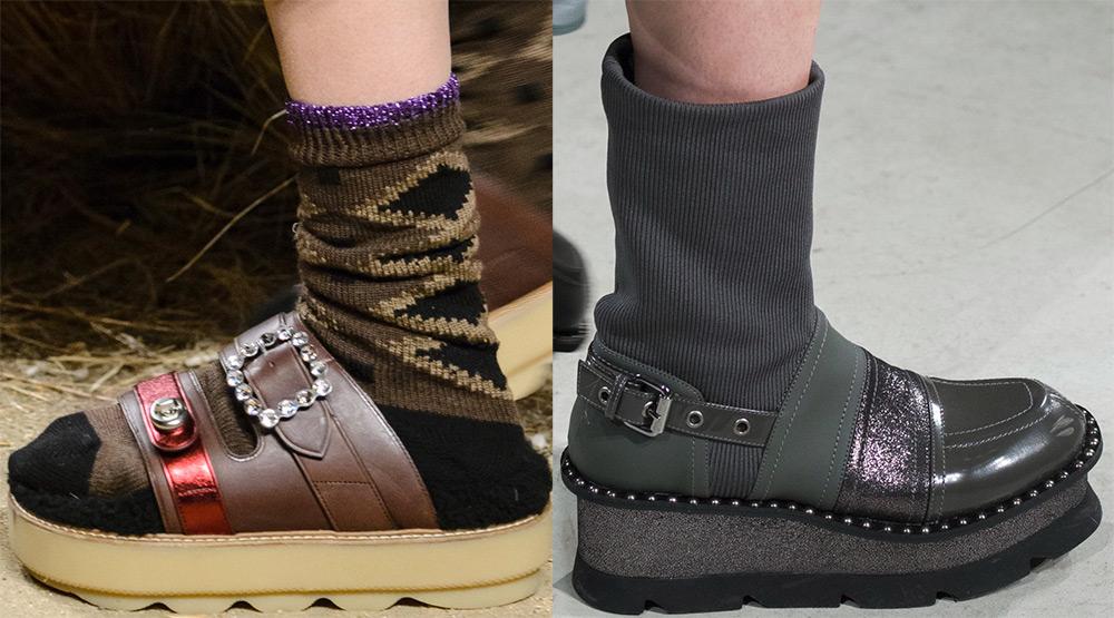 Женская обувь на флатформе
