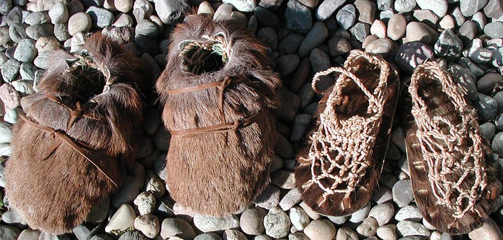 Обувь древних людей