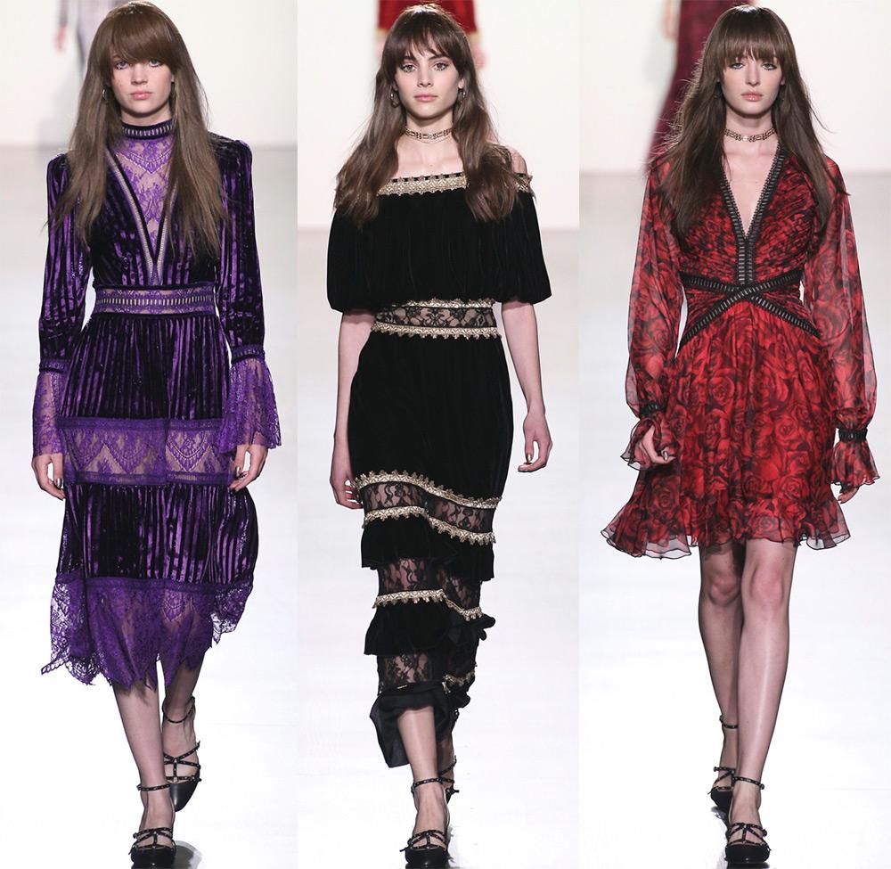 Красивые новогодние платья