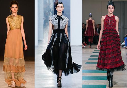 34f39babc9e Мода осень-зима 2017-2018. Модные платья на Новый год 2018 – фото и  тенденции