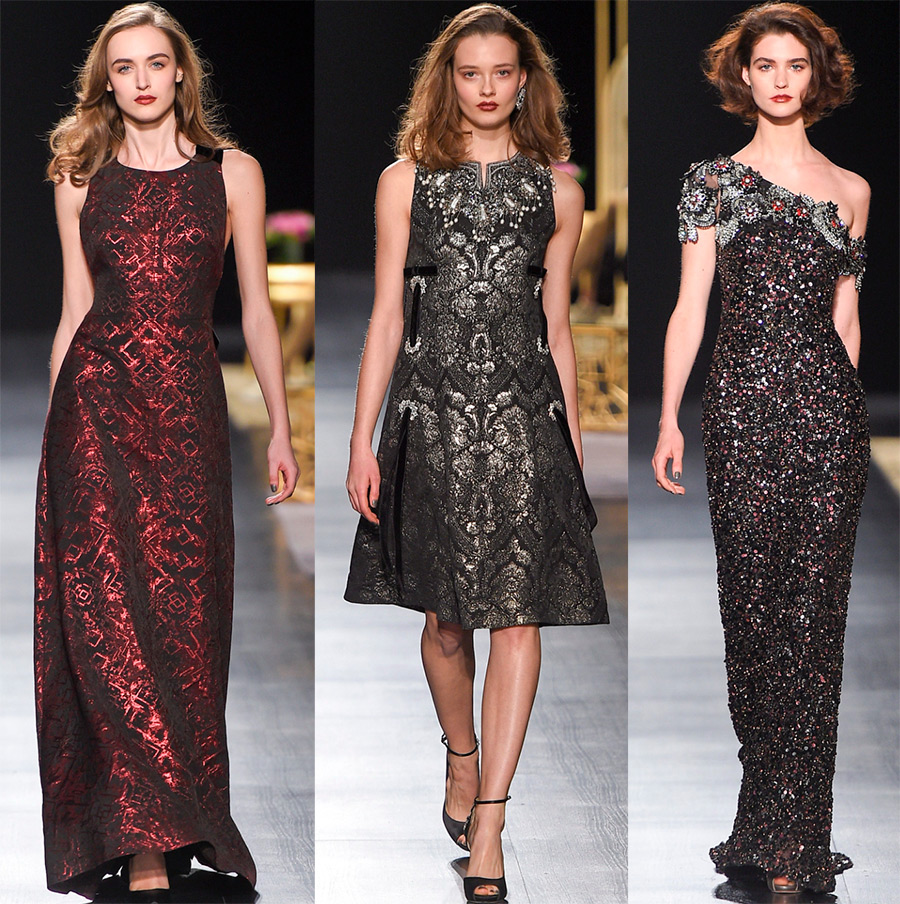 Платья Badgley Mischka