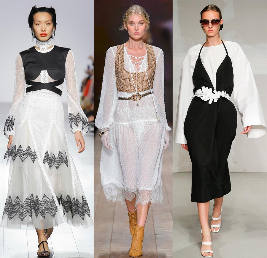 Платья в бельевом стиле 2018 года