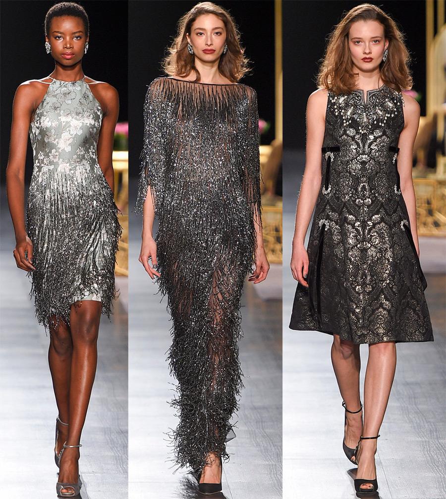 Блестящие праздничные платья 2018