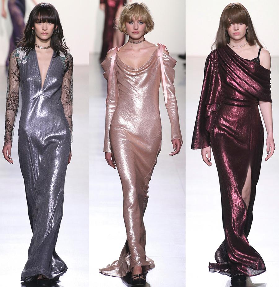 Блестящие платья Tadashi Shoji