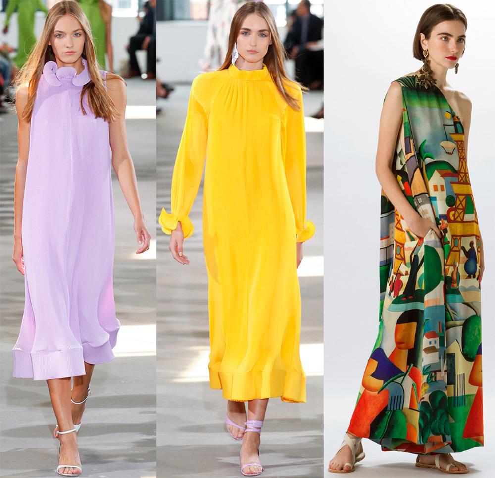 8039ba50850 Платья свободного кроя – модные тенденции и фото
