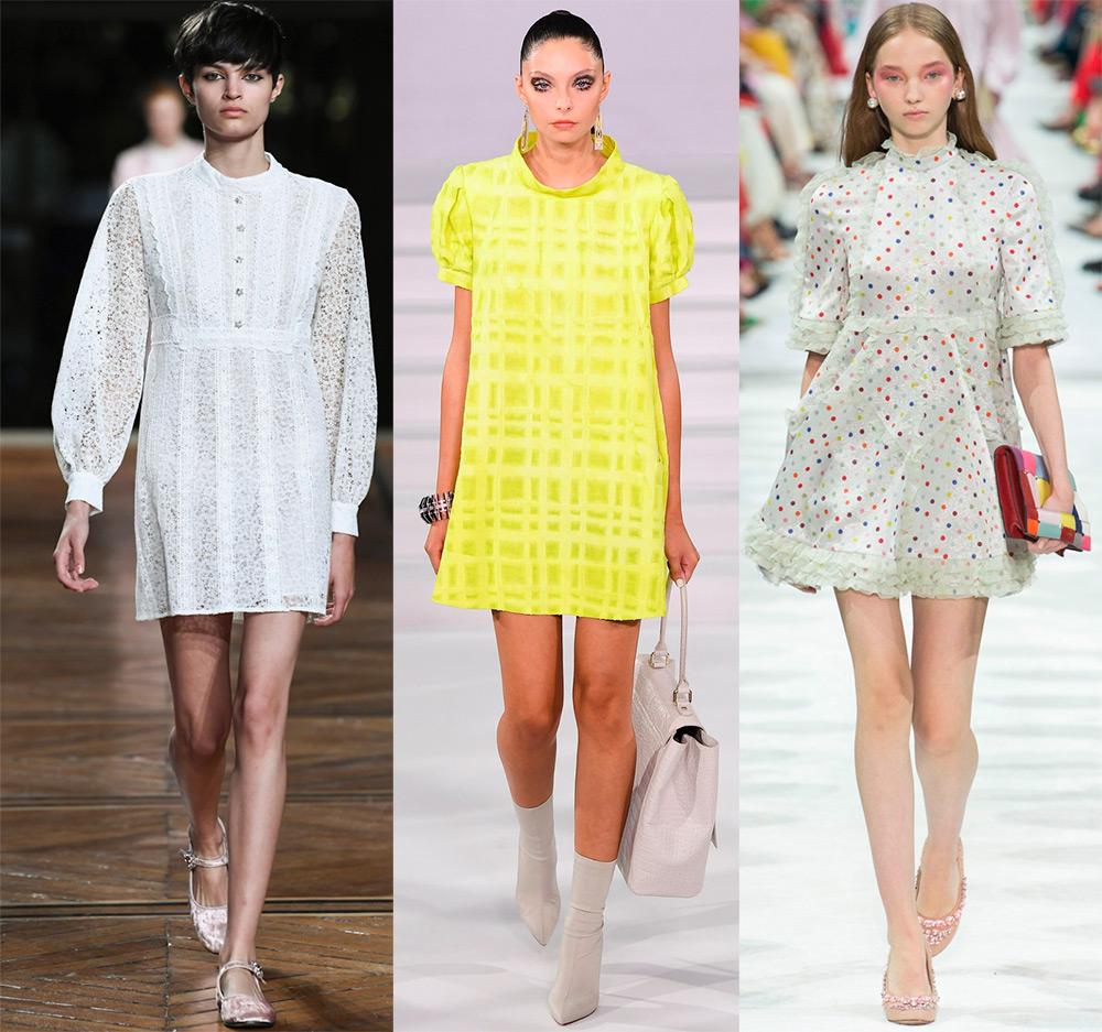 Платья свободного кроя – модная тенденция