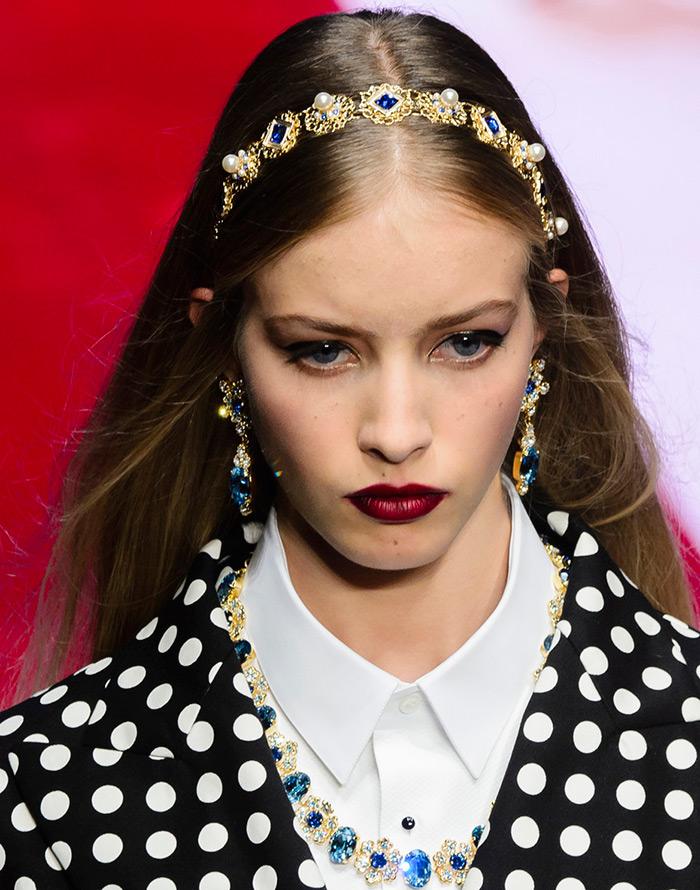 Короны и ободки для волос Dolce & Gabbana
