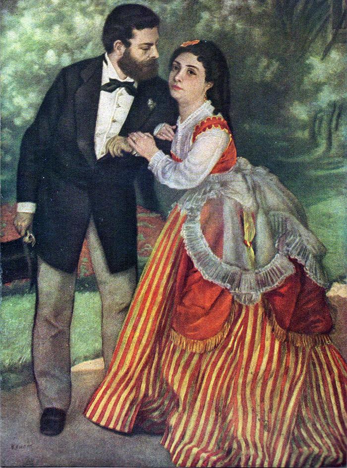 Мода в 1860 годы