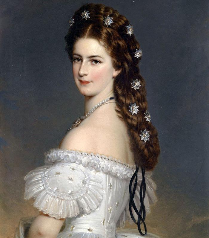 Портрет Елизаветы Баварской