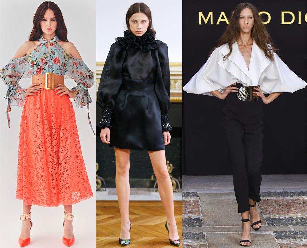 Модная тенденция рукава 2018